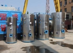 燃气锅炉的辅机使用方式