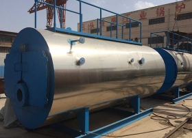 包头燃气(油)承压热水锅炉WNS型