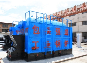 包头燃煤蒸汽锅炉DZL型